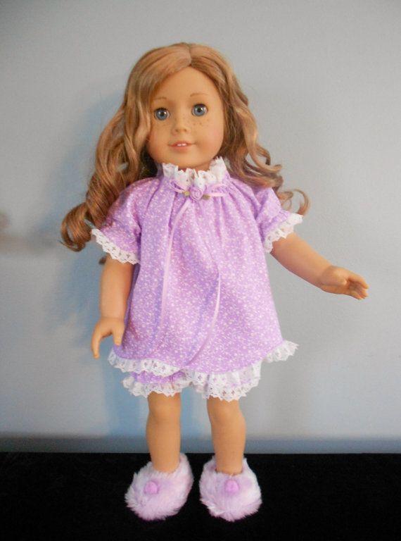 American Girl Baby Doll Pajamas by DollFashionsbyLinda on Etsy