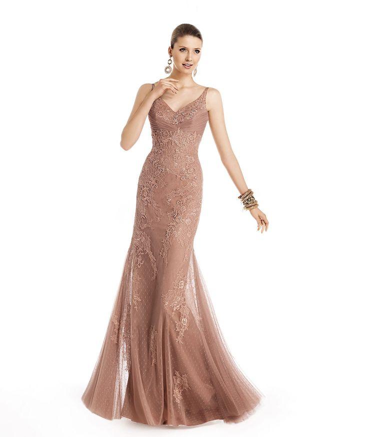 Meerjungfrau/Mermaid-Stil Spaghettitraeger Bodenlang Organza Abendkleid F14P0044 # Elegant fashion dream junior bridesmaid dress style