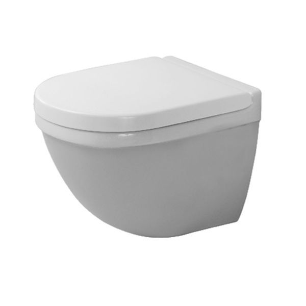 Duravit Starck 3 Compact Wall-Mounted Toilet With Durafix | From C.P. Hart