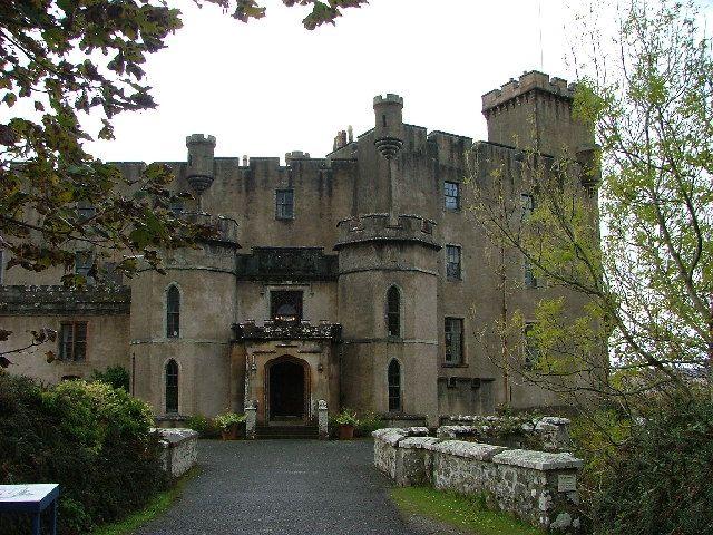 Данвеган замок - передние двери