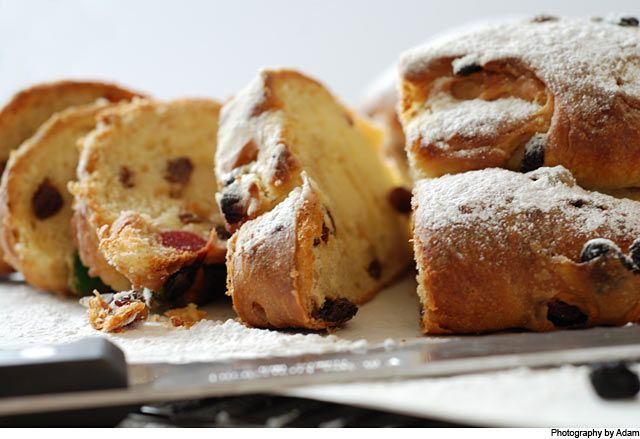 Christmas stollen recipe from Fisher & Paykel Social Kitchen