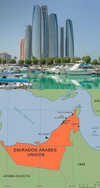 Abu-Dhabi es la capital de los Emiratos Árabes Unidos