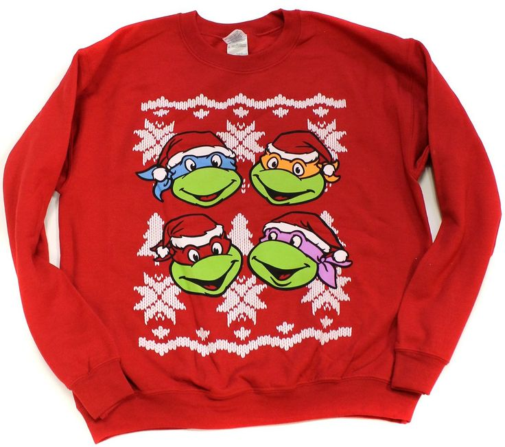 TMNT Christmas Sweater | Shut Up And Take My Money