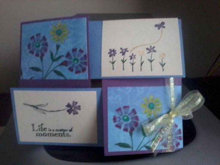 quarter fold cards