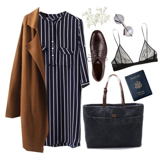 """""""Untitled #37"""" by nagy-bori on Polyvore featuring Sesto Meucci, Cuero, Retrò, Yves Saint Laurent and Royce Leather"""