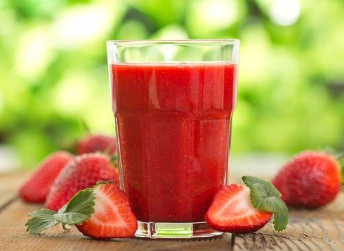 Smoothie fraise kiwi