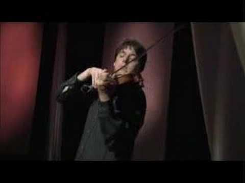 Joshua Bell playing Ave Maria.