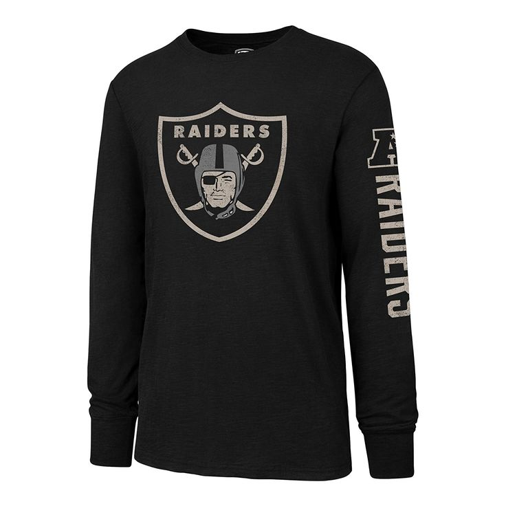 840209feb Amazon.com   NFL Men s OTS Slub Long Sleeve Team Name Distressed Tee    Sports   Outdoors