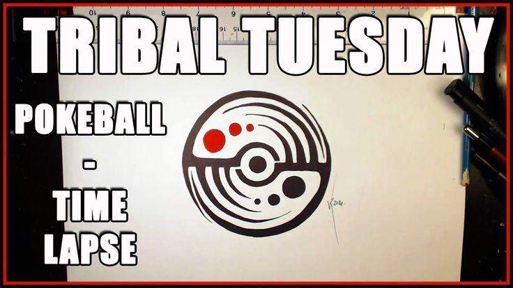 Tribal Tuesday - Pokeball - TIME LAPSE