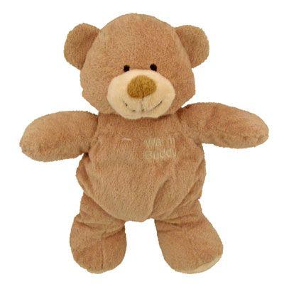 Warm Buddy Sleepy Time Bear | Ultra Soft Plush Warm -up Baby Bear