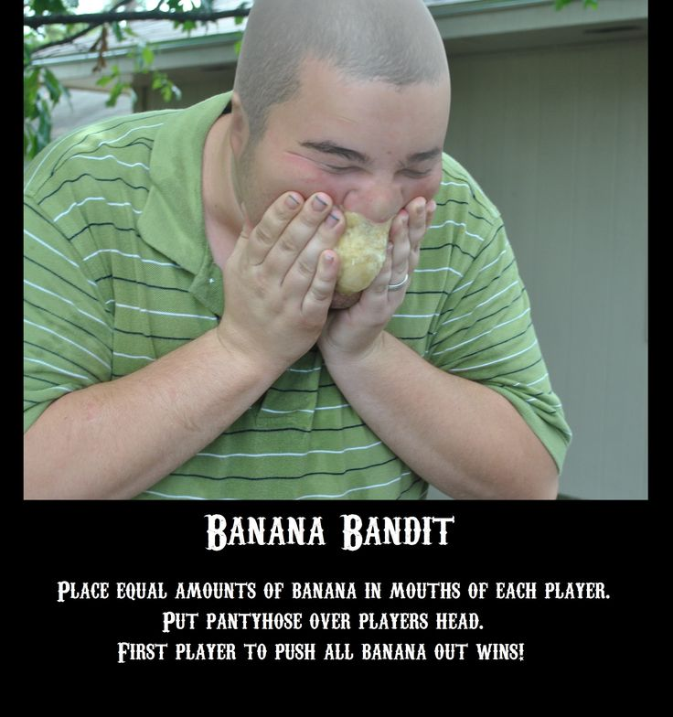 family fear factor banana bandit by LSS