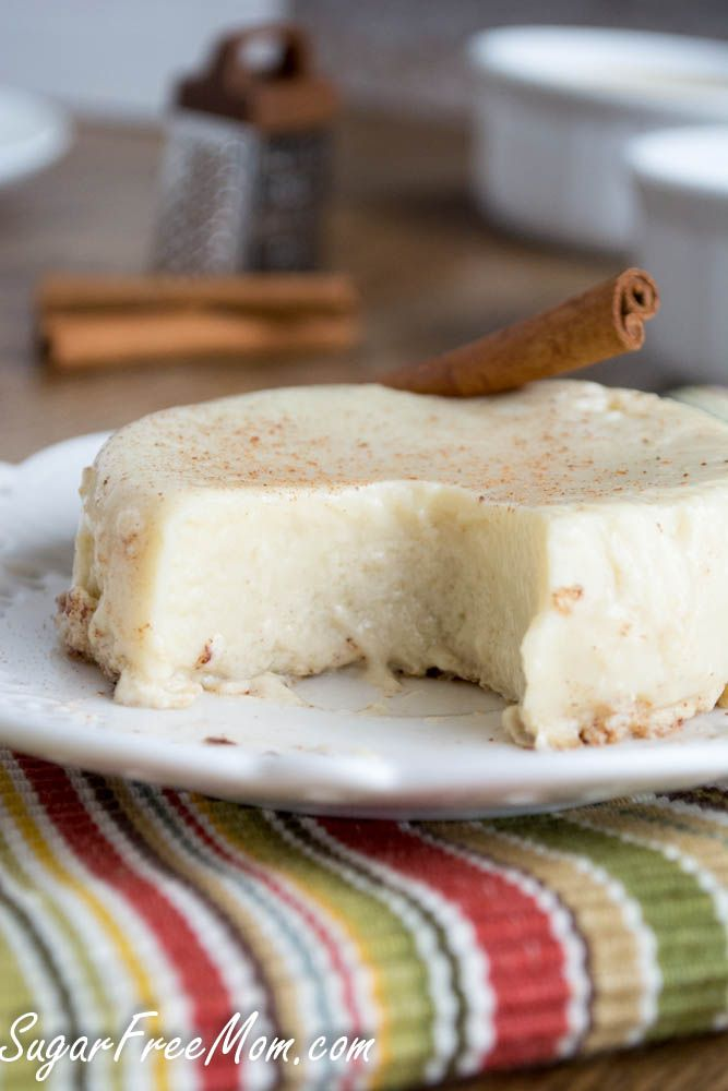 Vanilla Egg Protein Custards #lowcarb  #glutenfree Can be #dairyfree  and only 76 calories each!!