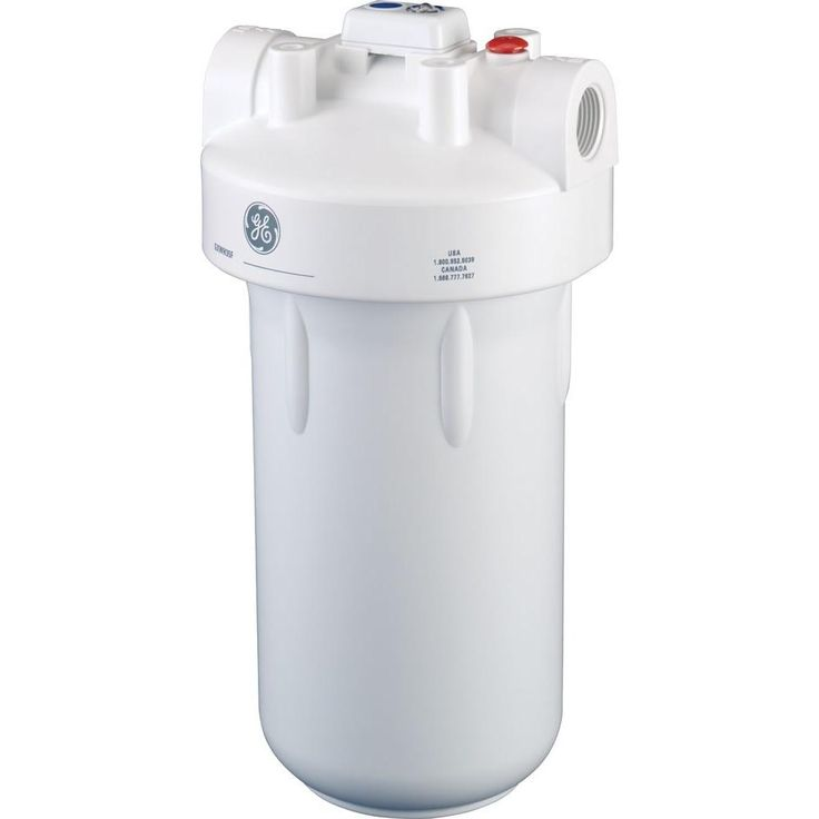 GE Whole Home Water Filtration System-GXWH35F - The Home Depot x5 units inline idea...