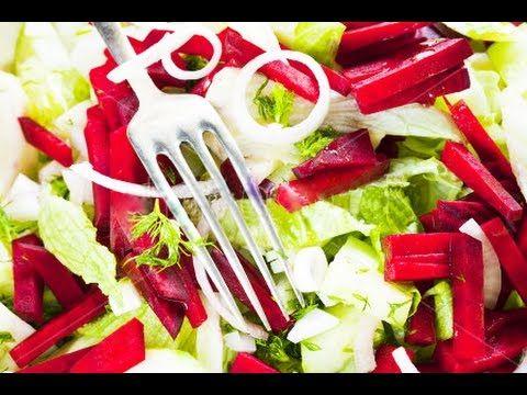 Постный салат - просто объедение