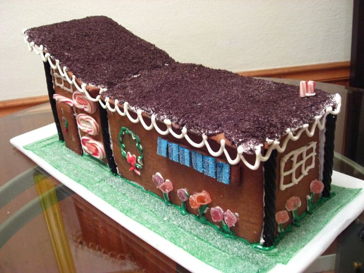65 best Mid-century modern gingerbread houses images on Pinterest ...