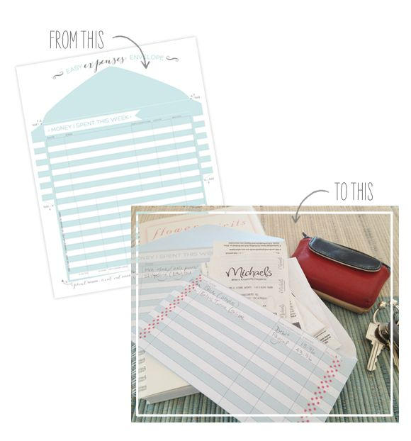 Tracking Your Expenses + Printable Expense Tracker  |  Oh My! Handmade Goodness