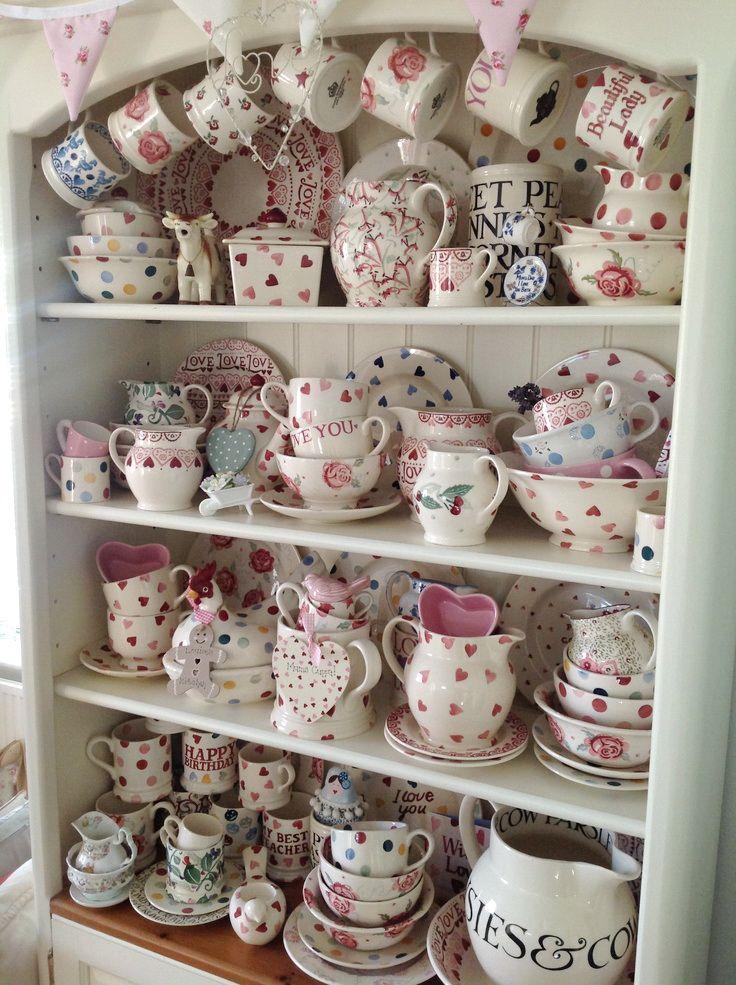 Emma Bridgewater pottery.