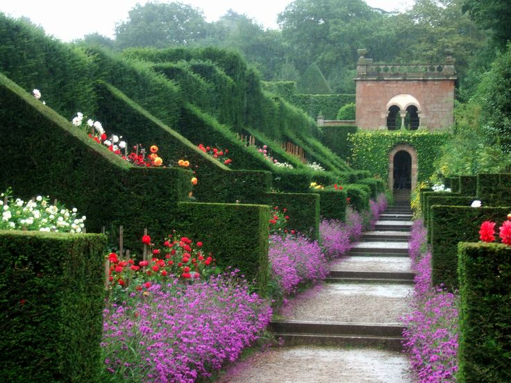 just adore this garden!