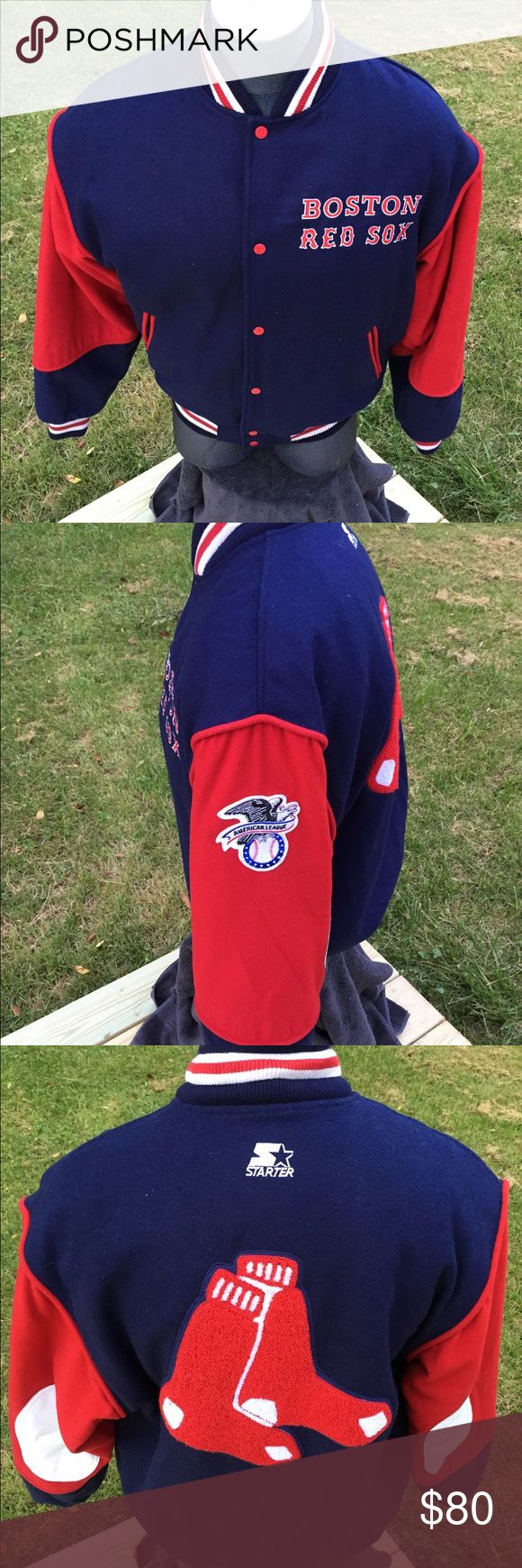 Vintage Boston Red Sox Jacket By Starter New... Jacket made by Starter  new old stock never worn... STARTER Jackets & Coats Bomber & Varsity