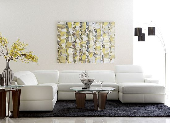 Relax In An Oasis Of Contemporary Sophistication With This Havertys Rio Sectional