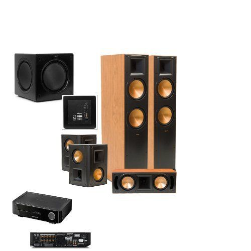 Klipsch RF-82II CHERRY Theater System SW-310 Sub-FREE Harman BDS BLU RAY by Klipsch. $3644.00. Now in its fifth generation, Reference II speakers have even more content and superior sound quality for you to enjoy. Youll find re-engineered drivers throughout combined with a new crossover system that will capture your complete attention and excite your emotions. Improved cosmetics, including black metallic finished baffles, cerametallic woofers, new logos and feet, redefine the loo...