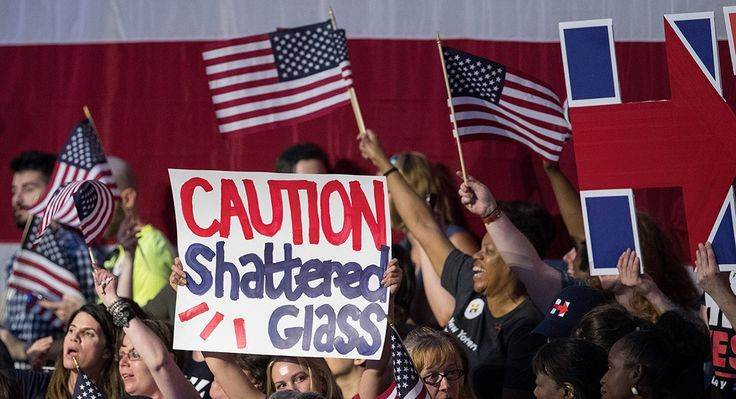 Supporters cheer before the arrival of Clinton during a primary night rally at the Duggal Greenhouse in the Brooklyn Navy Yard on June 7 in the Brooklyn borough of New York City. (Getty)