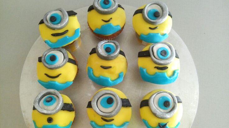 minions muffins backen