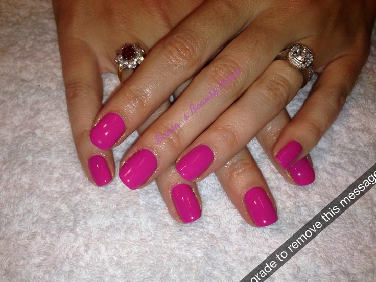 CND Shellac Hot Pop Pink... Love it!   Nail Polish ...