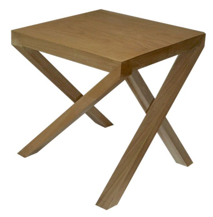 Viraje wood  end table e