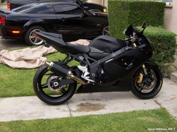 2004 Suzuki GSXR 600 - my first street bike