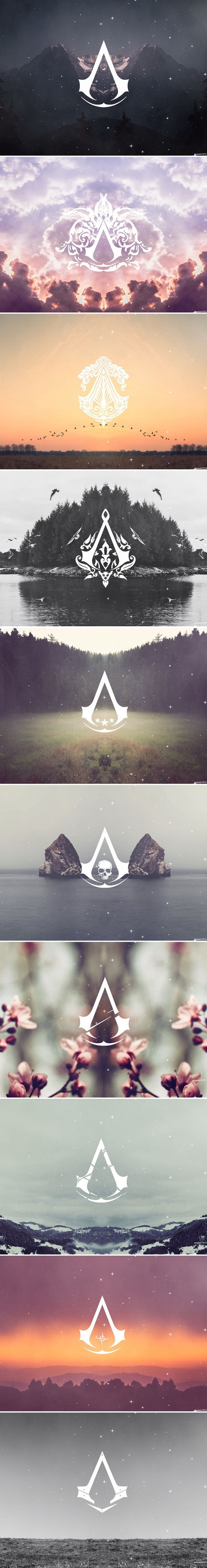 Assassin's Creed Logos: