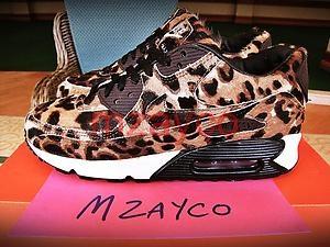 nike air max 90 leopard id studio bespoke animal beast