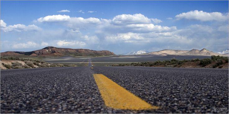 U.S. Highway 50, The Loneliest Highway in America. In Nevada.