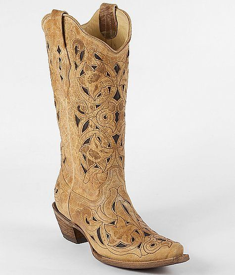 Ugh.... I NEED these!! Corral Brushed Leather Boot