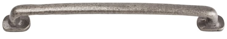 Atlas Homewares 335 Distressed 6-5/16 Inch Center to Center Handle Cabinet Pull Pewter Cabinet Hardware Pulls Handle