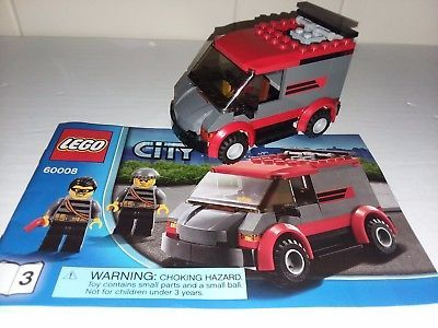lego police van instructions