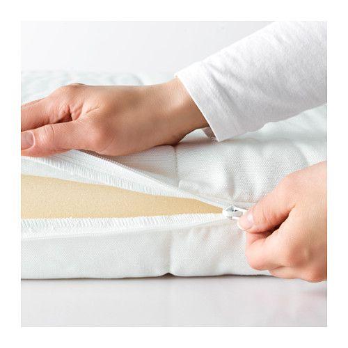 MOSHULT Schaummatratze, fest, weiß fest/weiß 90x200 cm
