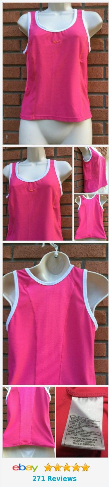 Nike Small 4-6 Dri Fit Sleeveless Pink Vented Workout Top ..EUC  | eBay http://www.ebay.com/itm/Nike-Small-4-6-Dri-Fit-Sleeveless-Pink-Vented-Workout-Top-EUC-/222447255415?ssPageName=STRK:MESE:IT