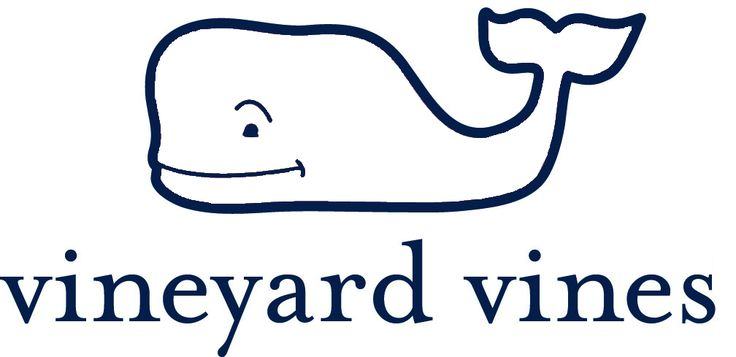 Vineyard Vines Whale Logo Outline For Class Projecteasy