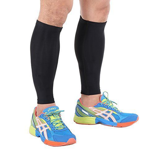 Calf Compression Sleeve - Kara Sports Men and Women's Leg Compression Sleeves- Helps Shin Splints- Calf Guard Great for Running, Cycling, Maternity, Travel, Nurses (Large) //Price: $ & FREE Shipping // #‎healthbenefits‬ ‪#‎lifestyle‬ ‪#‎healthy‬ ‪#‎energy #healthypeople   #relax #nocancer #firstaid #womenhealth #menhealth