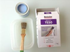 Hacer chalky paint casero http://mifukublog.wordpress.com/2014/06/17/como-hacer-chalkpaint-casero/