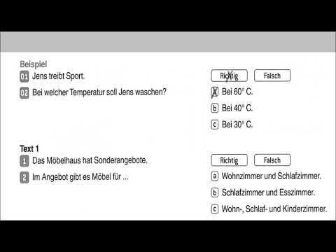 Mündliche Prüfung telc Deutsch B1 - YouTube