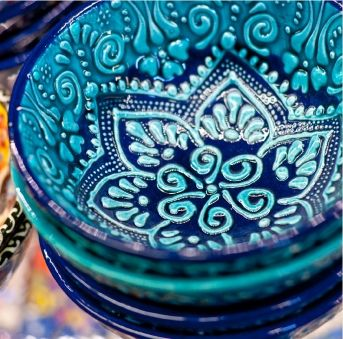 Blue Turkish Ceramics