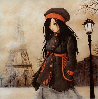 J'ai mis cette image car je la trouve inspirante sa me fait un peu penser à l'automne  je trouve la toile vraiment belle et très réelle , j'aimerais vraiment être capable de faire des aussi belle toile!