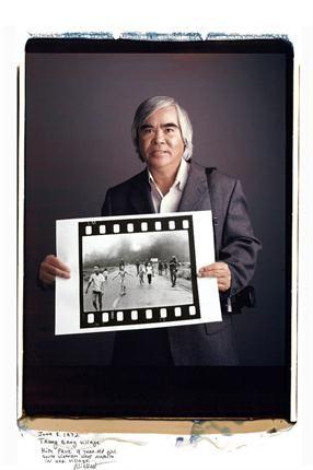 Nick Ut. Kim Phúc. Bombardeo con napalm. Trang Bang, 8 de junio de 1972.. Foto: Tim Mantoani