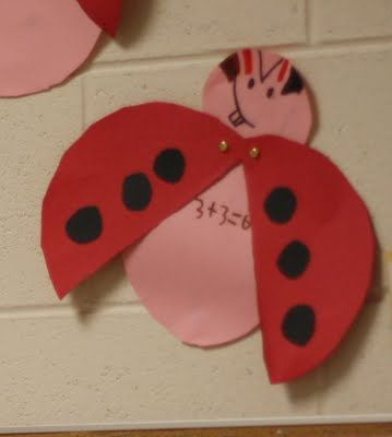 Fairy Dust Teaching Kindergarten Blog: Ladybug Math