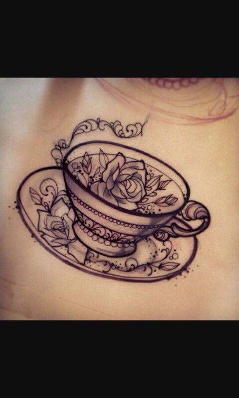 Love this cute little tea cup!