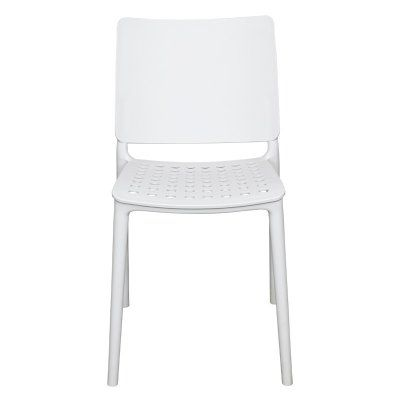 Source Contract Marcay Patio Dining Side Chair - SC-2604-162-WHT