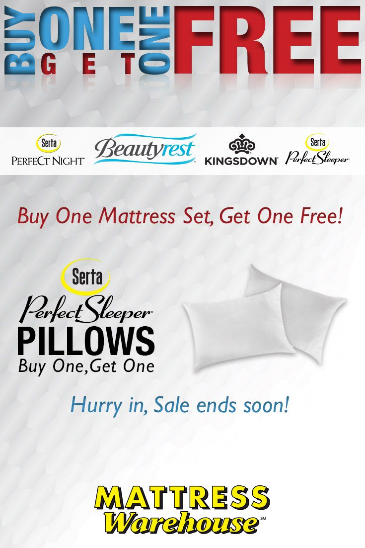 Save During The Mattress Warehouse Bogo Come Into Any Today Get Bedmatched And 2 Mattresses For Price Of 1 On