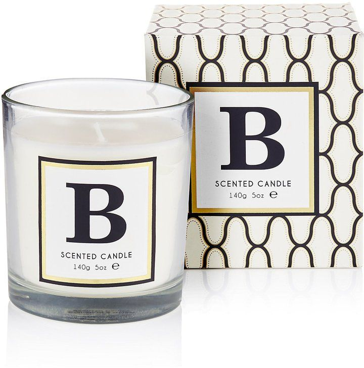 Marks and Spencer Alphabet B Scented Candle (£6)